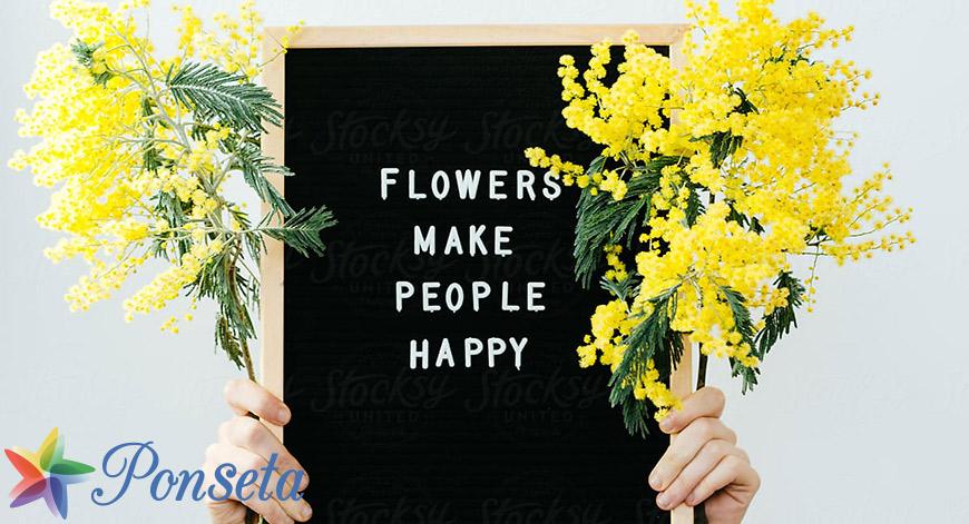 Best words to describe flowers
